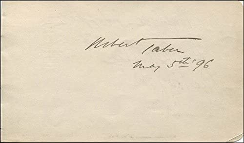 Robert Taber - Signature 05 Dewolf 1896 Opening large release sale Hopper By: co-signed New Free Shipping