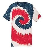 Koloa Surf Youth Colorful Tie-Dye T-Shirt,L-USA