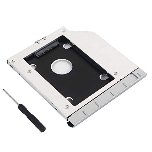 2º HDD SSD Disco Duro Marco Óptico Adaptador Caddy para HP Probook ...