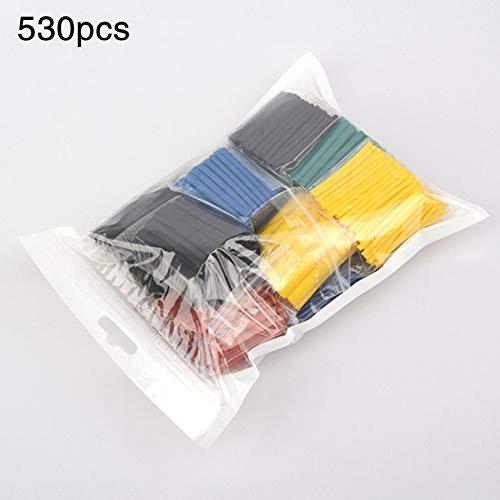 530-teilige Schrumpfschlauch-Isolierhülle für Kabel und Drähte mit hervorragendem elektrischen und mechanischen Schutz
