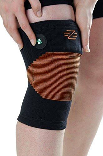 Blazewear Scalda Muscolo Riscaldante X-2 per Ginocchio e Polpaccio (X Large) con Batteria Litio
