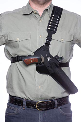 DIAMOND D OUTDOORS Denali Chest Holster - Revolver 7 1/2''...