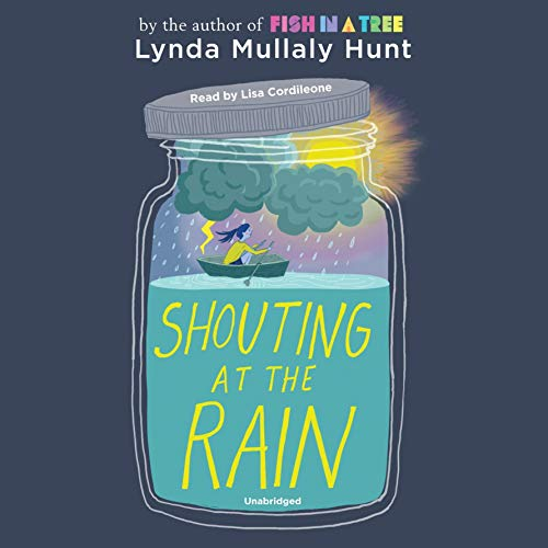 Shouting at the Rain audiobook cover art