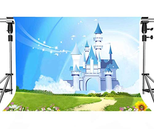MEETS 10x7ft Disneyland Backdrop Donald Duck Mickey Mouse Photography Background Themed Party Photo Booth YouTube Backdrop HUIMT334