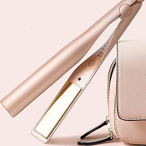 Rizador Buena Straightener2 de Pelo 1 Pelo Curling tuerza el Pelo alisado de Hierro y Wet & Dry Hair Styler for Las Mujeres (Plug Standard : US)