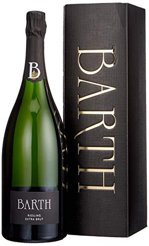Wein- und Sektgut Barth Riesling Extra Brut Rheingau Sekt b. A. Magnum (1 x 0.75l)