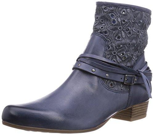 CAPRICE Damen 25301 Kurzschaft Stiefel, Blau (NAVY/805), 39 EU