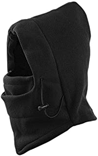 Fakeface Multipurpose Thermal Warm Fleece Balaclava Hood Veil Wind Proof Stopper Full Face Mask Hats Head Neck Warmer for Snowboard Swat Ski Motorcycle Outdoor Winter Sports Under Helmet Protection