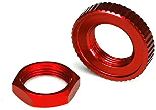 Traxxas 8345R Red-Anodized Aluminum Servo Saver Nuts