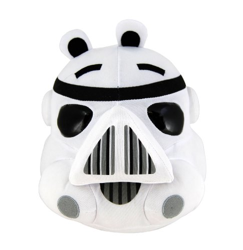 Angry Birds Star Wars Plush Bird Stormtrooper, 5 Inch