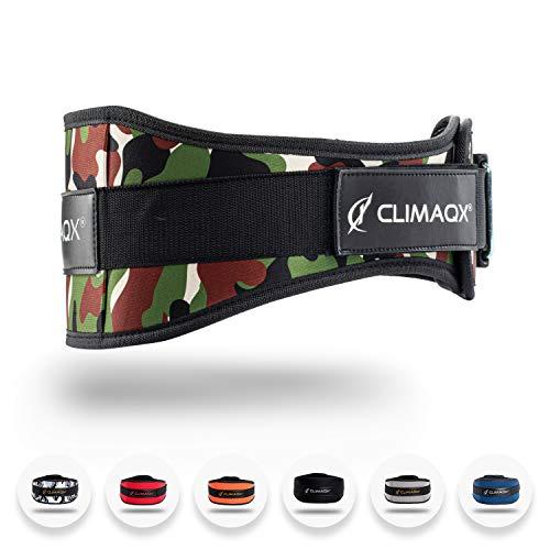 Climaqx Gamechanger Gewichthebergürtel [Green-Camo Edition - Größe XS]