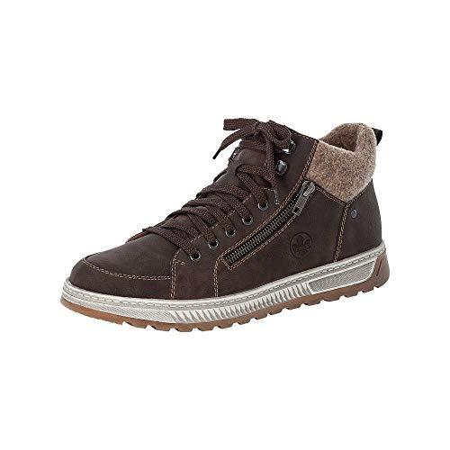 Rieker Herren 17021 Mode-Stiefel, braun, 43 EU