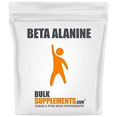 BulkSupplements.com Beta Alanine Powder - Pre Workout Vegan - Carnosyn (100 Grams)