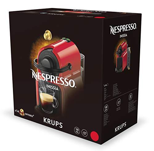 Krups Nespresso XN 1001 Inissia Nespresso blanc, 0.8L, 1260W