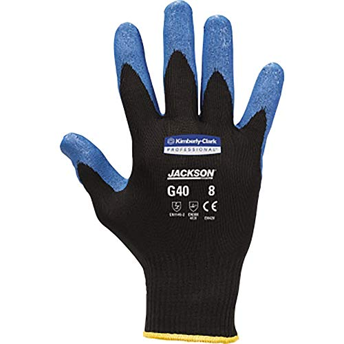 Kimberly Clark 40152 Jackson Safety G40 Smooth Nitrile Handschuhe, Blau (60-er pack)