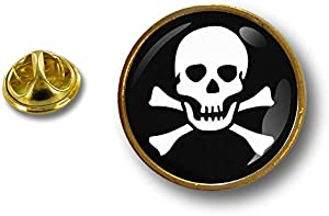Spilla Pin pin's Spille spilletta Giacca Bandiera Badge Pirata Pirati Teschio
