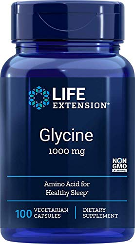 Life Extension Glycine Vegetarian Capsules, Mg, 100 Count by Life Extension