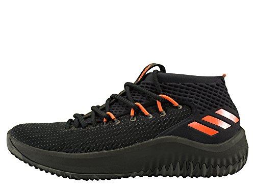adidas Dame 4, Zapatos de Baloncesto Hombre, Negro (Cblack/Dgsogr/Hirere Cblack/Dgsogr/Hirere), 40 2/3 EU