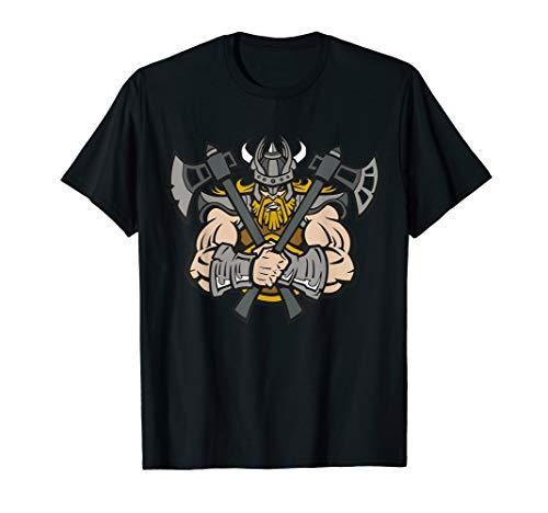 Wikinger Berserker Axt Viking Odin Thor Walhalla Asgard T-Shirt