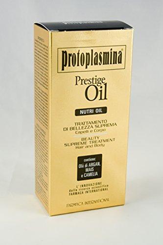 Protoplasmina Prestige Oil Nutri Oil 150ml Trattamento Di Bellezza Suprema Per Corpo E Capelli
