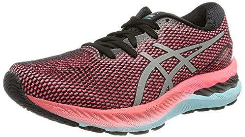 ASICS Gel-Nimbus 23 Lite-Show, Zapatillas de Running Mujer, Black Pure Silver, 42 EU