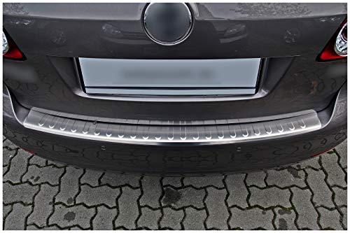 teileplus24 L559 Ladekantenschutz V2A Edelstahl für VW Golf Plus 6 2009-2014 Abkantung