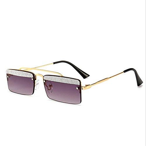 Belleashy Gafas de sol para mujer, estilo vintage, cuadradas, polarizadas, 100% protección UV, para conducir, ciclismo, correr, pesca, golf, uso diario (color: C8)