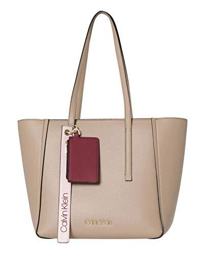 Calvin Klein Jeans Ck Base Medium Shopper - Borse a spalla Donna, Marrone (Tobacco), 16x28x42 cm (B x H T)