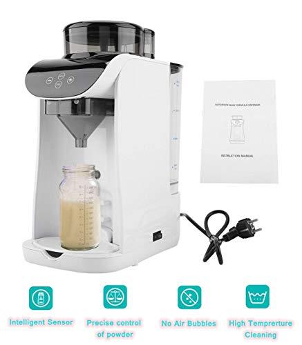 Hongzer Milchpulver Mischer Hersteller für Baby, 1.8L Intelligente Multifunktions Milchpulver Braumaschine mit automatischer Einstellung von Milchkonzentration, Kapazität und Temperatur(EU)