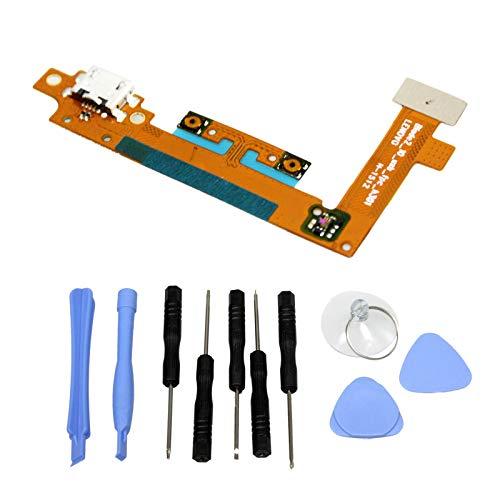 Gintai USB opladen poort Flex vervanging voor Lenovo Yoga Tablet 2-1051F 1050 Blade2_10_usb_fpc_h301