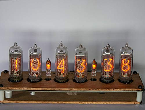 Nixie Tube Alarm Clock