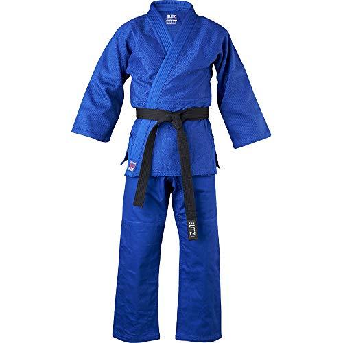 Blitz Oshima Schwerer Judoanzug, blau, 3/160 cm