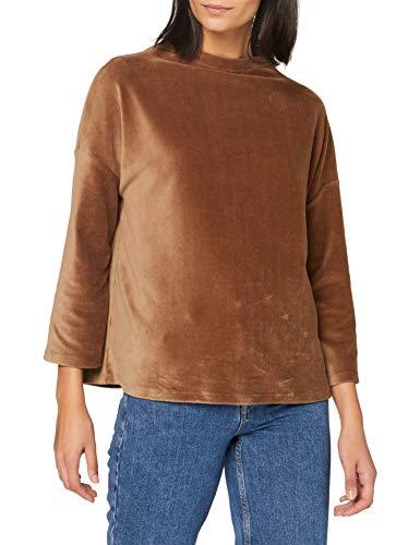 OPUS Damen Gheorge Sweatshirt, Peanut, 38
