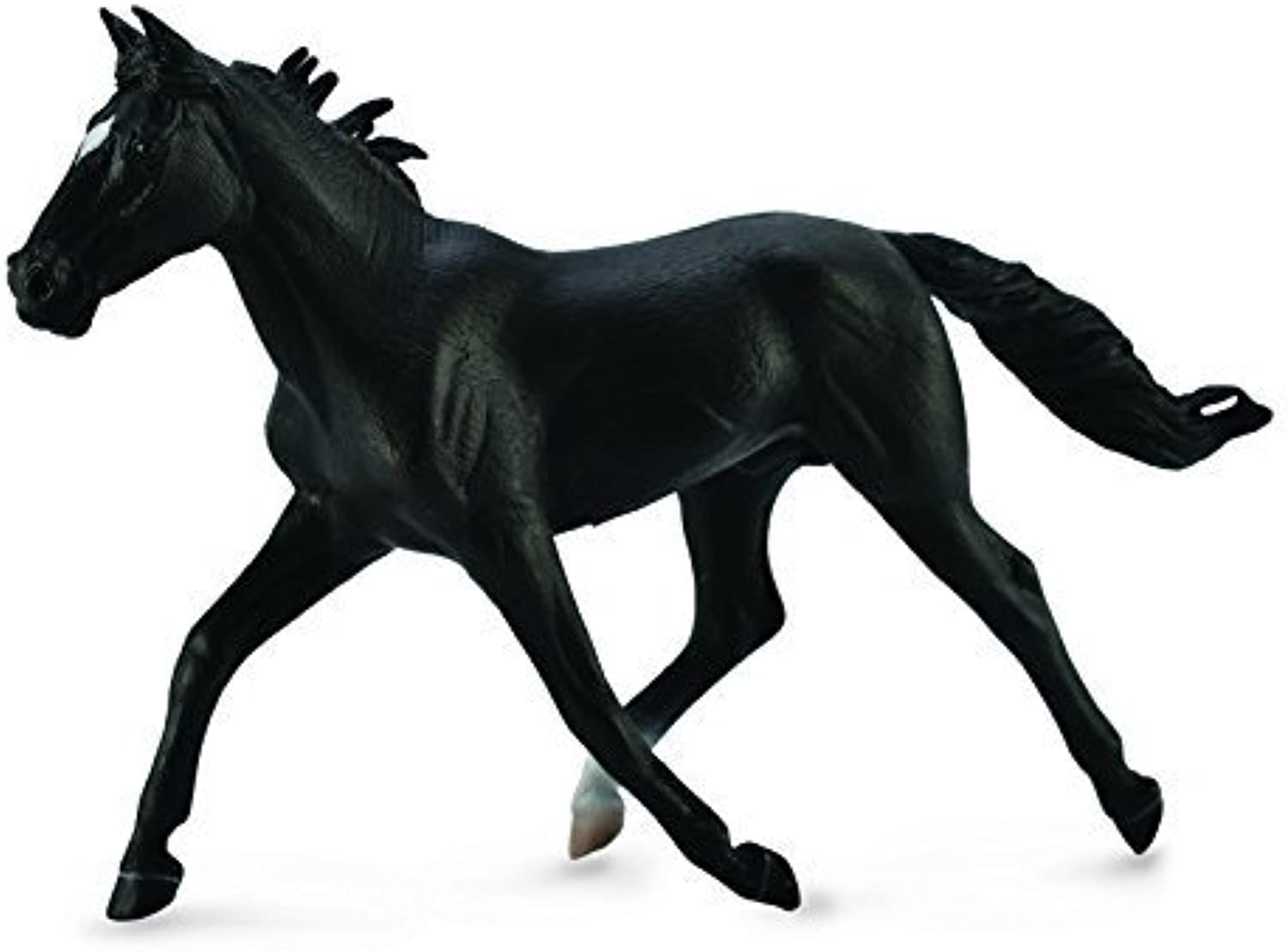 Standardbred Pacer Stallion Black (XL) by CollectA