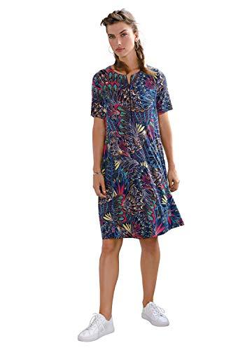 Looxent Damen Abendkleid mit 1/2-Arm Reißverschluss