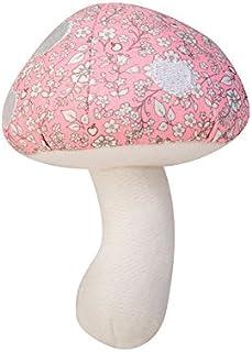 Apple Park Greifling piszcząca grzechotka organiczna Mushroom Rattle (Mushroom pink)