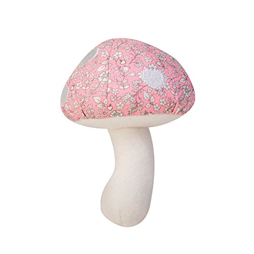 Apple Park Hochet pouet Organic Mushroom (Mushroom Pink)