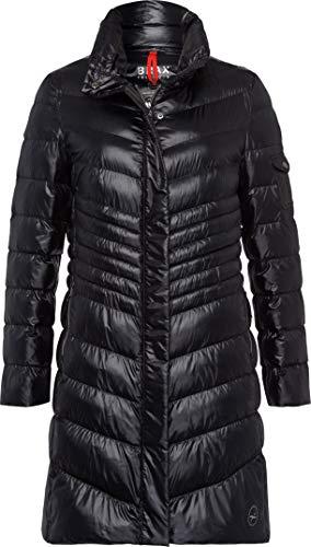 BRAX Damen Style Basel Mantel, Black, (Herstellergröße: 36)