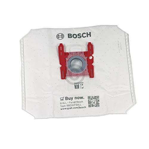 Juego de 4 bolsas de aspiradora de repuesto para Bosch 17000940 tipo G ALL BBZ41FGALL