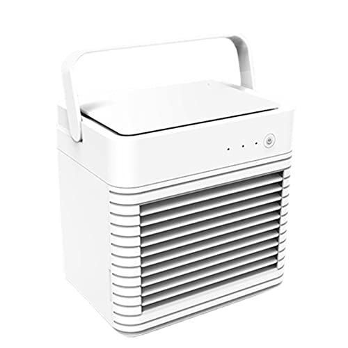 Lrocaoai Condizionatore d'Aria Portatile Raffreddatore d'Aria Ventola di Raffreddamento Ad Acqua Ricarica USB Raffreddatore d'Aria Umidificante per L'Ufficio Domestico
