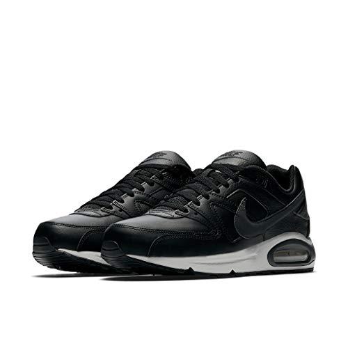 Nike - Air Max Command Leather Sneakers Uomo Moda Pelle 749760 001 Nero - 42, Nero