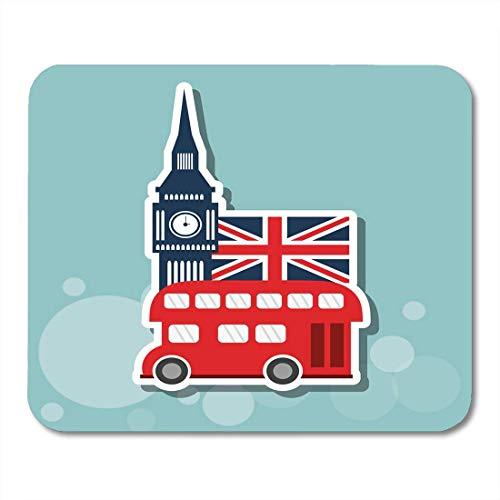 Preisvergleich Produktbild Mauspads Capital Ben London Design Big Travel Großbritannien Britische Busstadt Mauspad für Notebooks,  Desktop-Computer Mausmatten,  Büromaterial