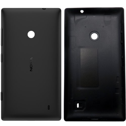 Genuine Nokia Lumia 520 replacement rear housing Battery Back cover case side keys BLACK