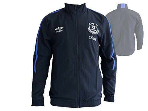 Umbro FC Everton Fan Jacke Premier League Toffees Woven Jacket FussballTop, Größe:L