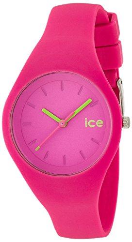 ICE-WATCH - ICE ola Neon pink - Rosa Damenuhr mit Silikonarmband - 000998 (Small)