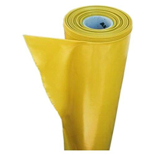 Gelbe Dampfsperrfolie TYP200 2m x 50m Dampfsperre Folie Dampfbremsfolie