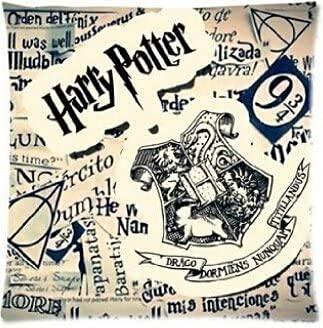 SHAA Harry Potter Hogwarts - Funda de almohada para cojín (50 x 50 cm) 27