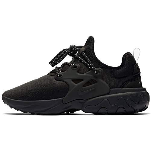 Nike Zapatillas de correr React Presto para hombre, negro (Negro/Negro-eléctrico Verde-blanco), 46...