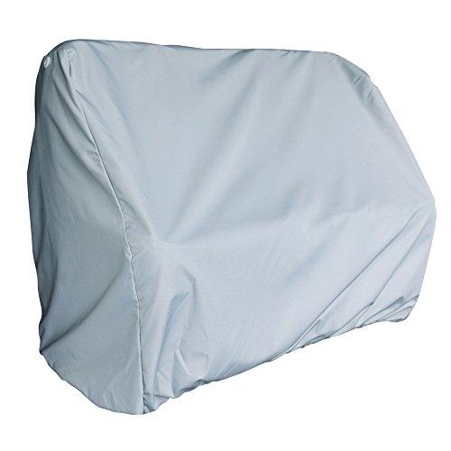 Leader Accessories Grey Pontoon Flip Flop Seat Cover
