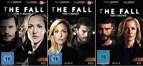 The Fall - Tod in Belfast Staffel 1-3 (1+2+3) Uncut [DVD Set]